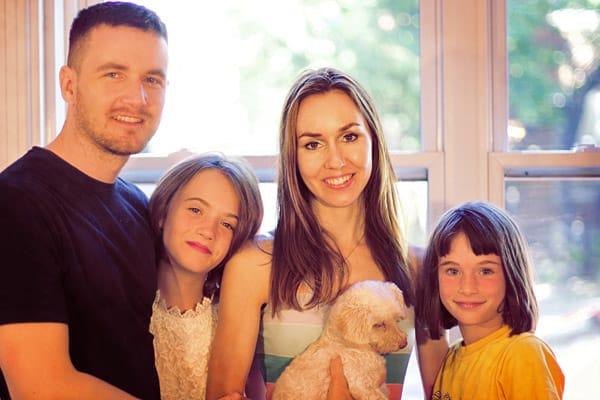 Olivier Roy et sa famille