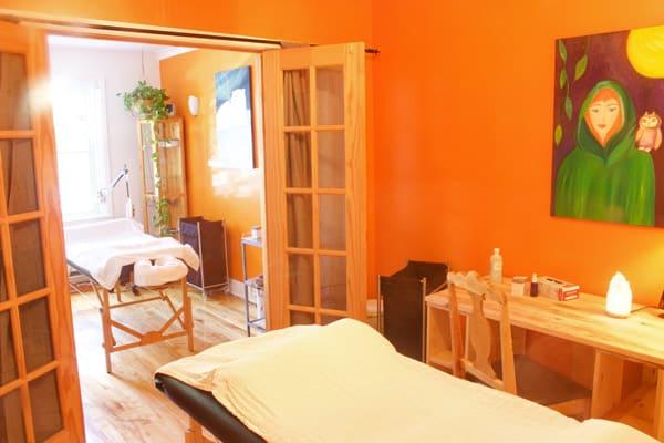 Clinique Shanti - Salle de traitement d'acupuncture