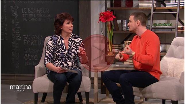 Olivier Roy Acupuncteur présente à Marina des techniques d'acupression et l'onguent d'acupression MOXA
