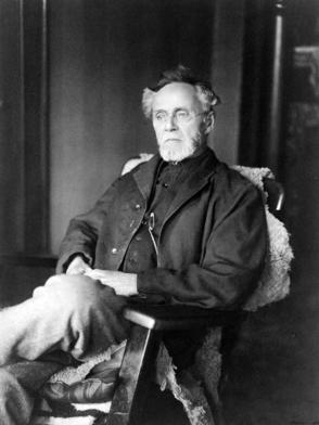 Andrew Taylor Still, 1914, ostéopathe fondateur de la pratique de l'ostéopathie